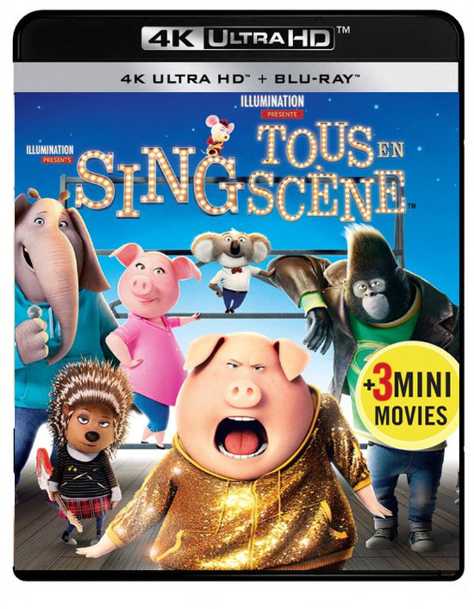 Sing (4K Ultra HD Blu-ray)-