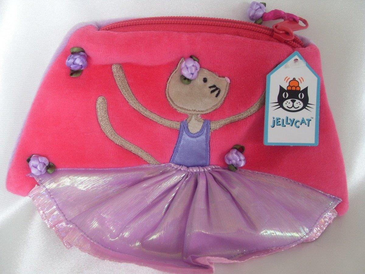 Jellycat - Pirouette Ballerina Cat - Tasje kopen