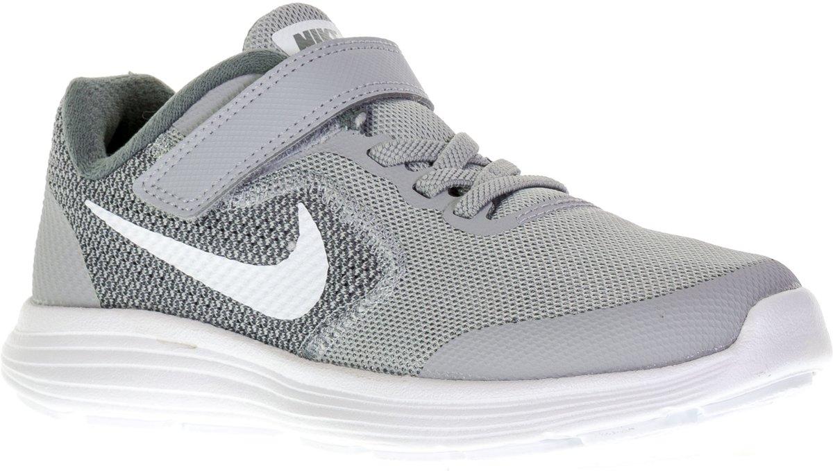 Nike Révolution 3 (psv) - Chaussures De Sport Taille 28,5 - Unisexe - Gris