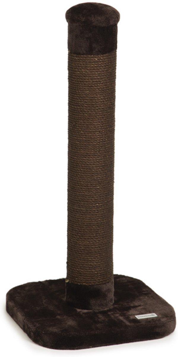 Beeztees Wumblo - Krabpaal - Bruin - 38x38x80 cm