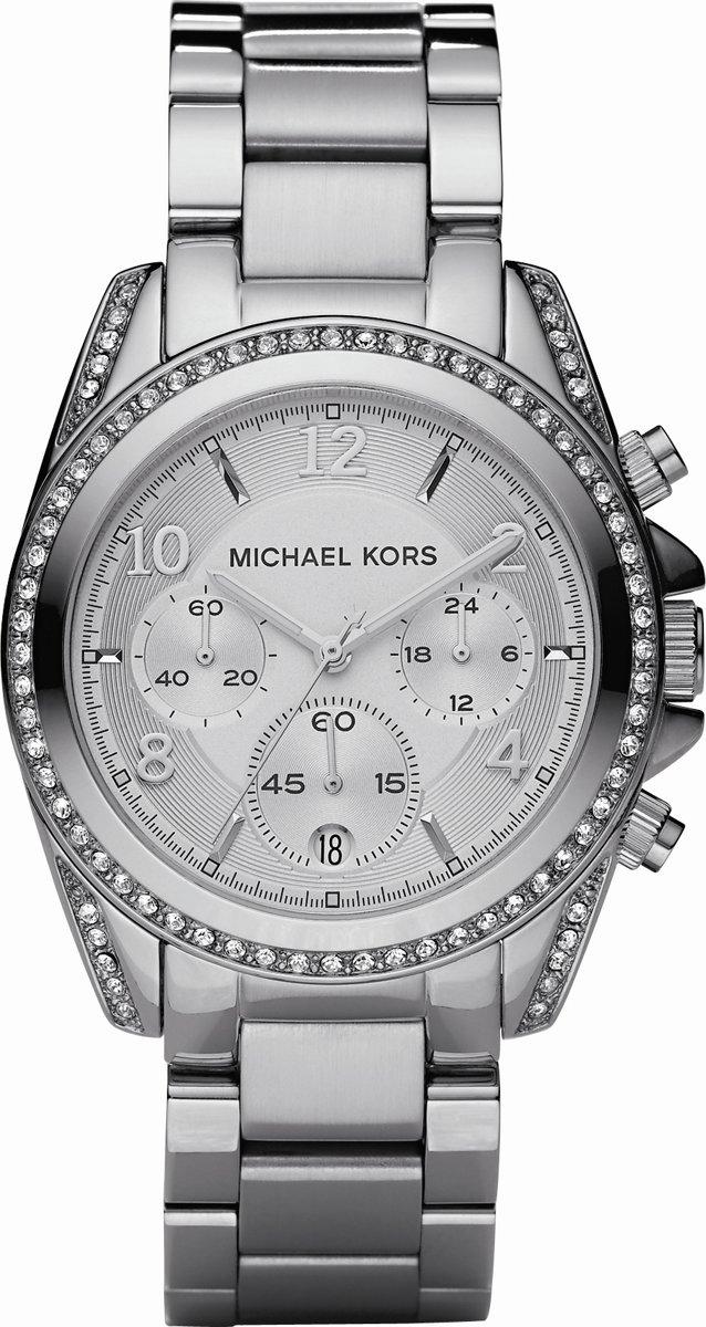 Michael Kors MK5165 - Horloge - Staal - Zilverkleurig - Ø 38 mm voor €108