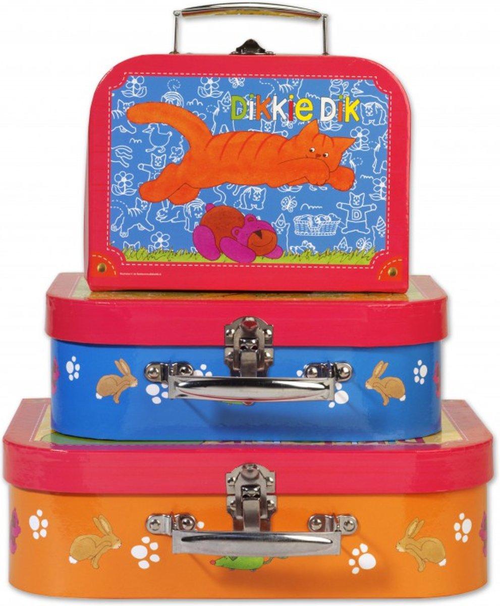Dikkie Dik Koffers - set van 3 kopen