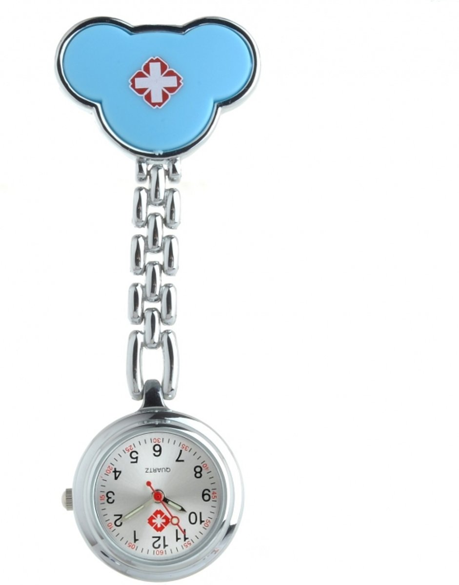 Verpleegster horloge mickey blauw kopen
