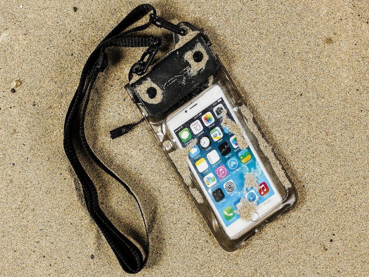 """Image of """"Waterdichte telefoonhoes voor Wolfgang At As40d met audio / koptelefoon doorgang, zwart , merk i12Cover"""" (8719177205898)"""