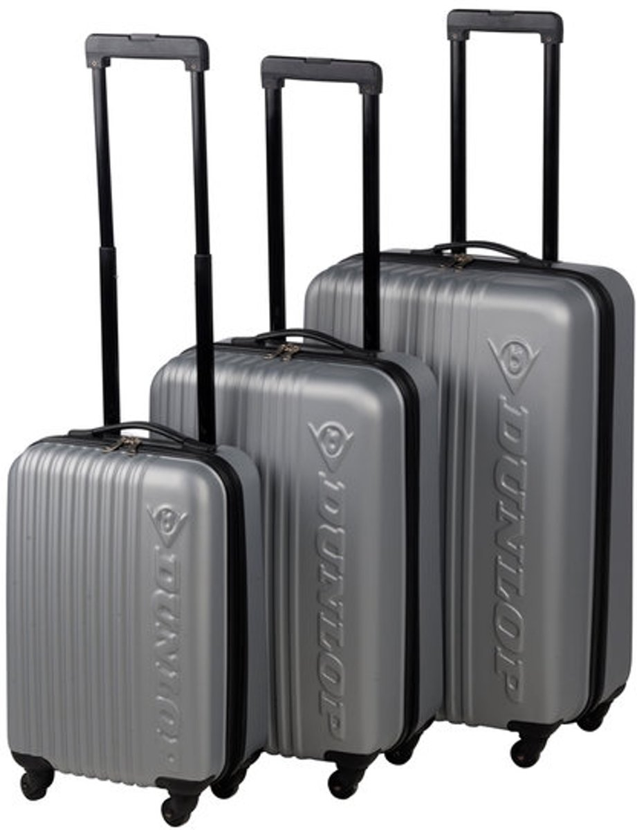 Kofferset / Trolleyset (grijs) kopen