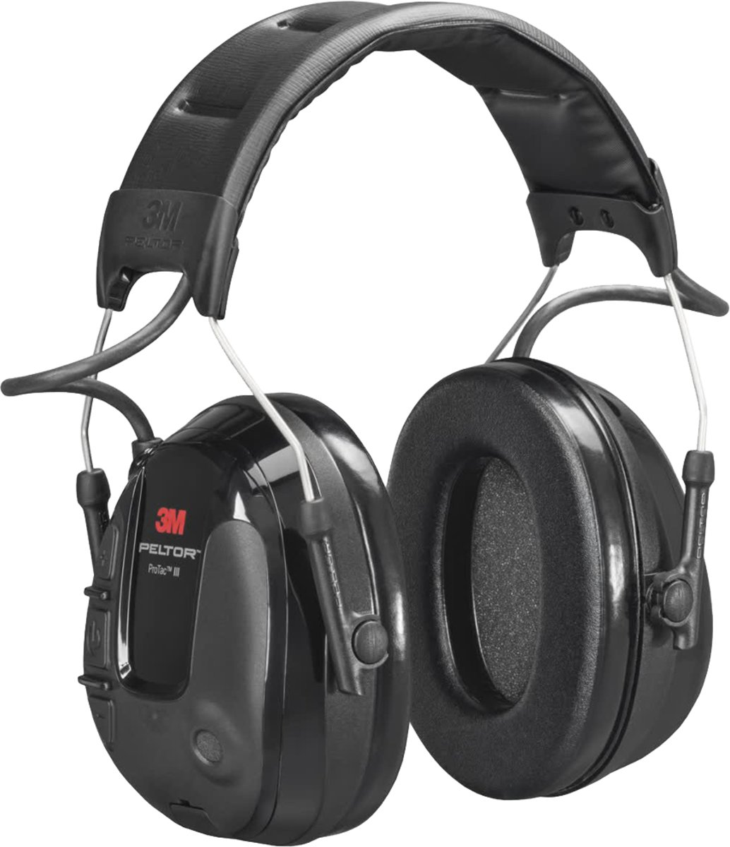 3M™ PELTOR™ ProTac™ III Headset, 26 dB, smalle oorkappen, hoofdband, MT13H220A kopen