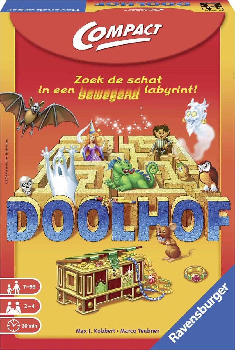 Ravensburger Doolhof Compact - Bordspel