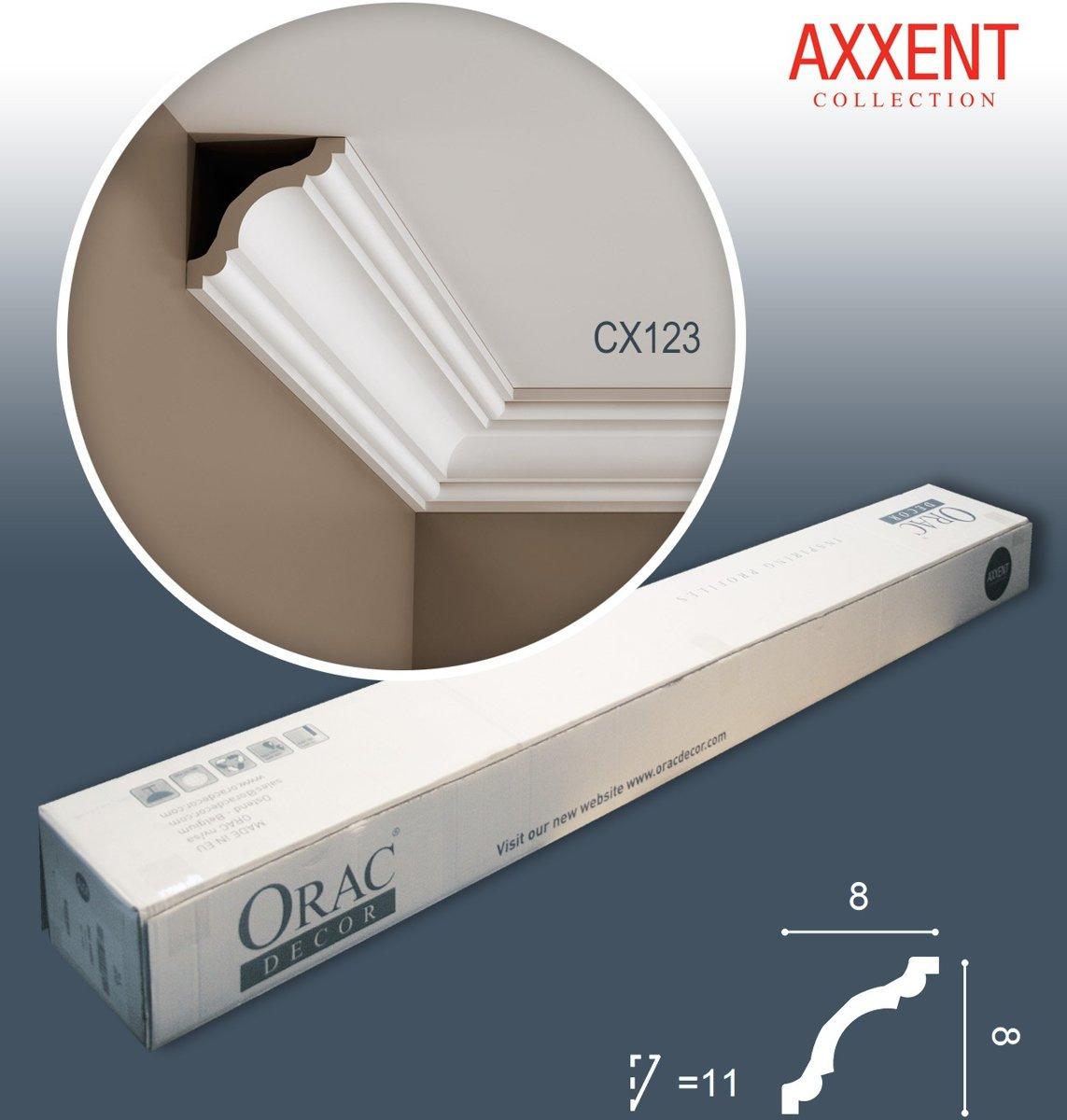 1 doos 24 Kroonlijsten Origineel Orac Decor CX123 AXXENT Plafondlijsten Sierlijsten 48 m kopen
