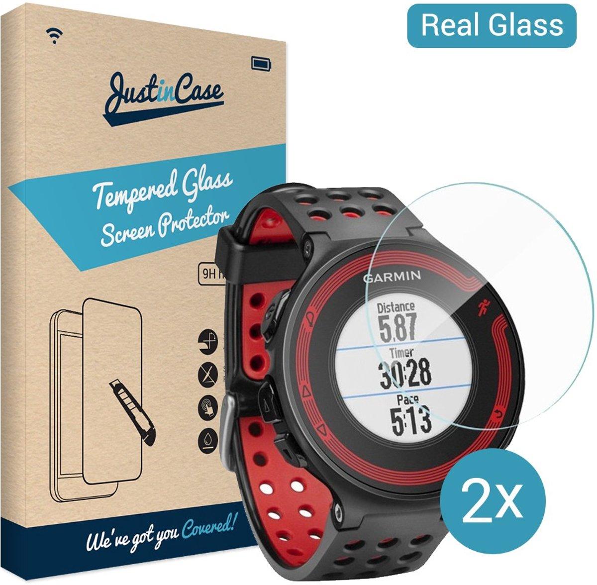 Just in Case Tempered Glass Garmin Forerunner 630 - 2 pack kopen