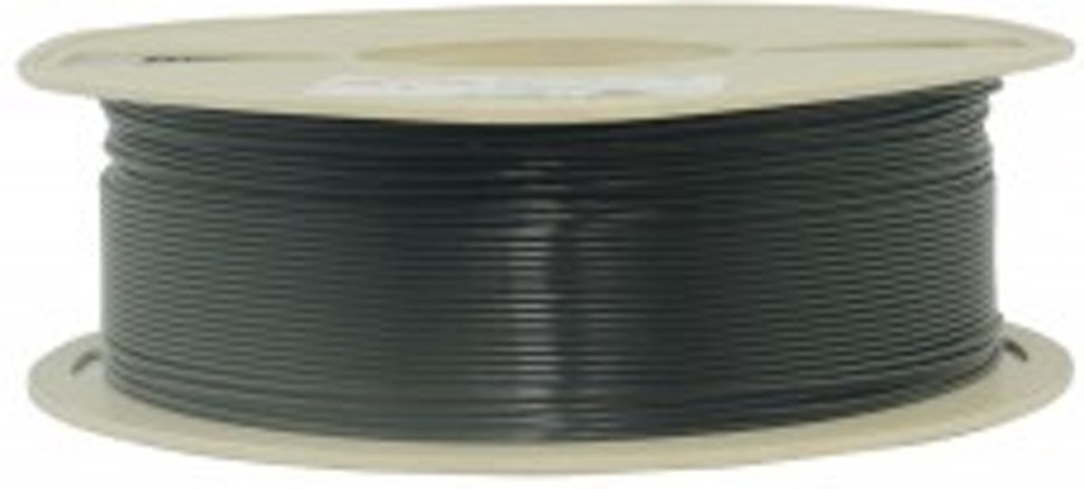 1.75mm zwart PLA filament