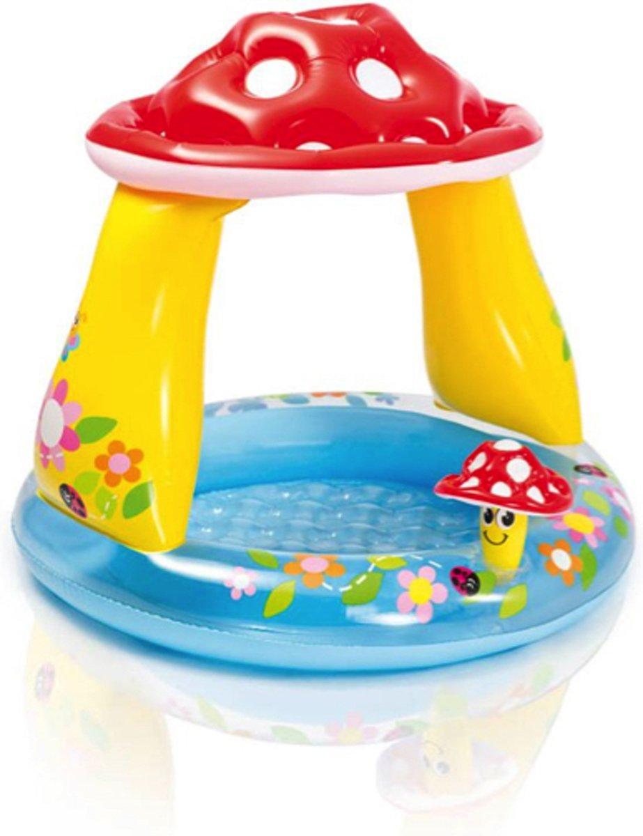 Babyzwembad paddenstoel - 102x89 centimeter