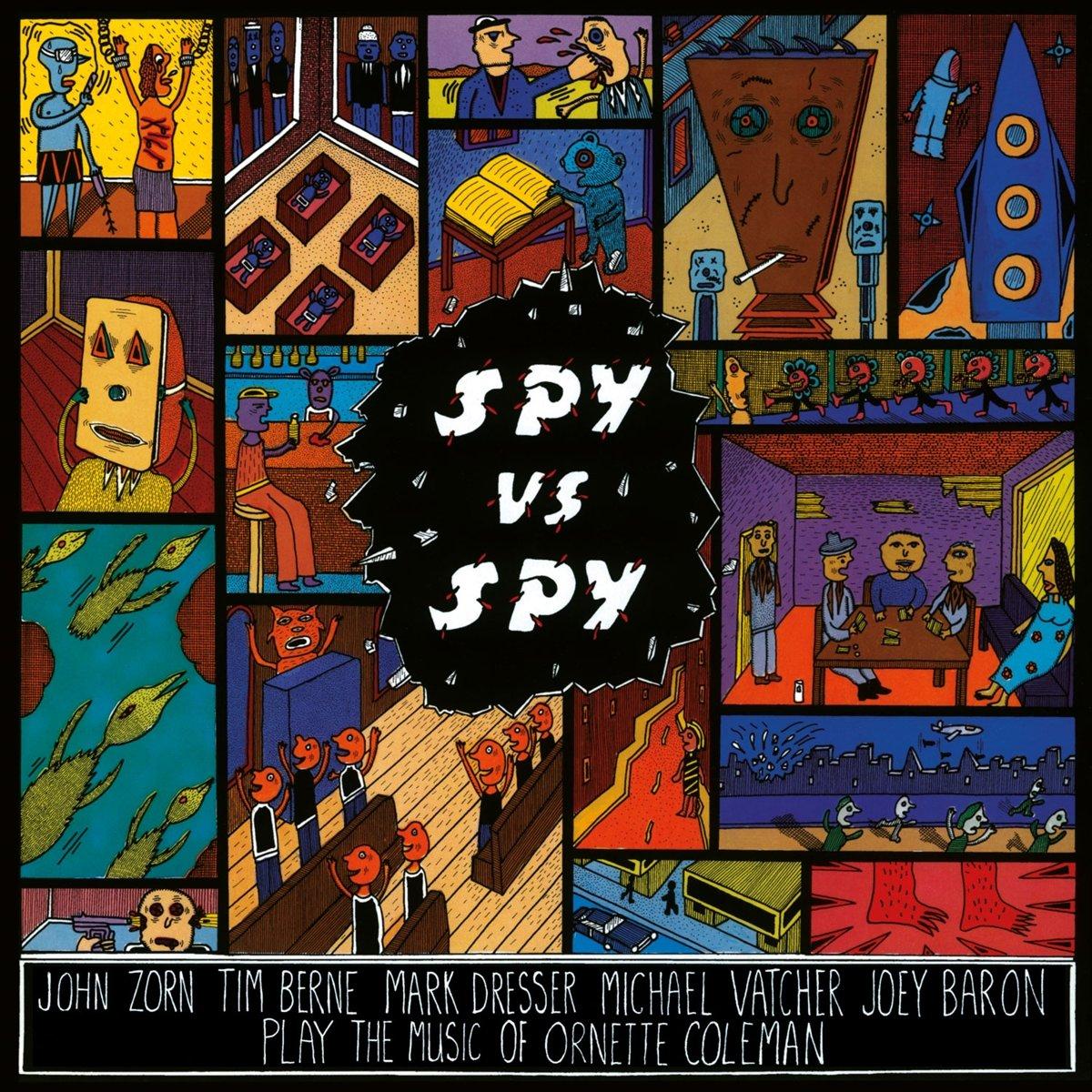 John Zorn - SPY VS SPY HQ INSERT   Vinyl kopen