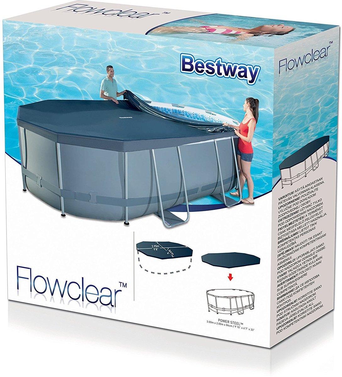 grote korting verkoop retailer mode stijl bol.com   Bestway zwembadhoes Levant ovaal 300x200 cm 58424