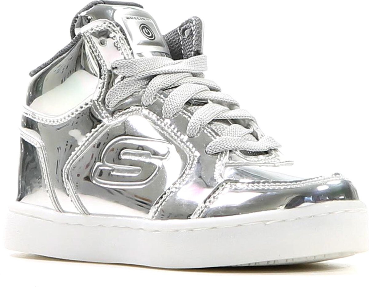 Skechers - 90603l - Sneaker Habillé - Filles - Taille 38 - Argent - Slvr aqqJ4NpV