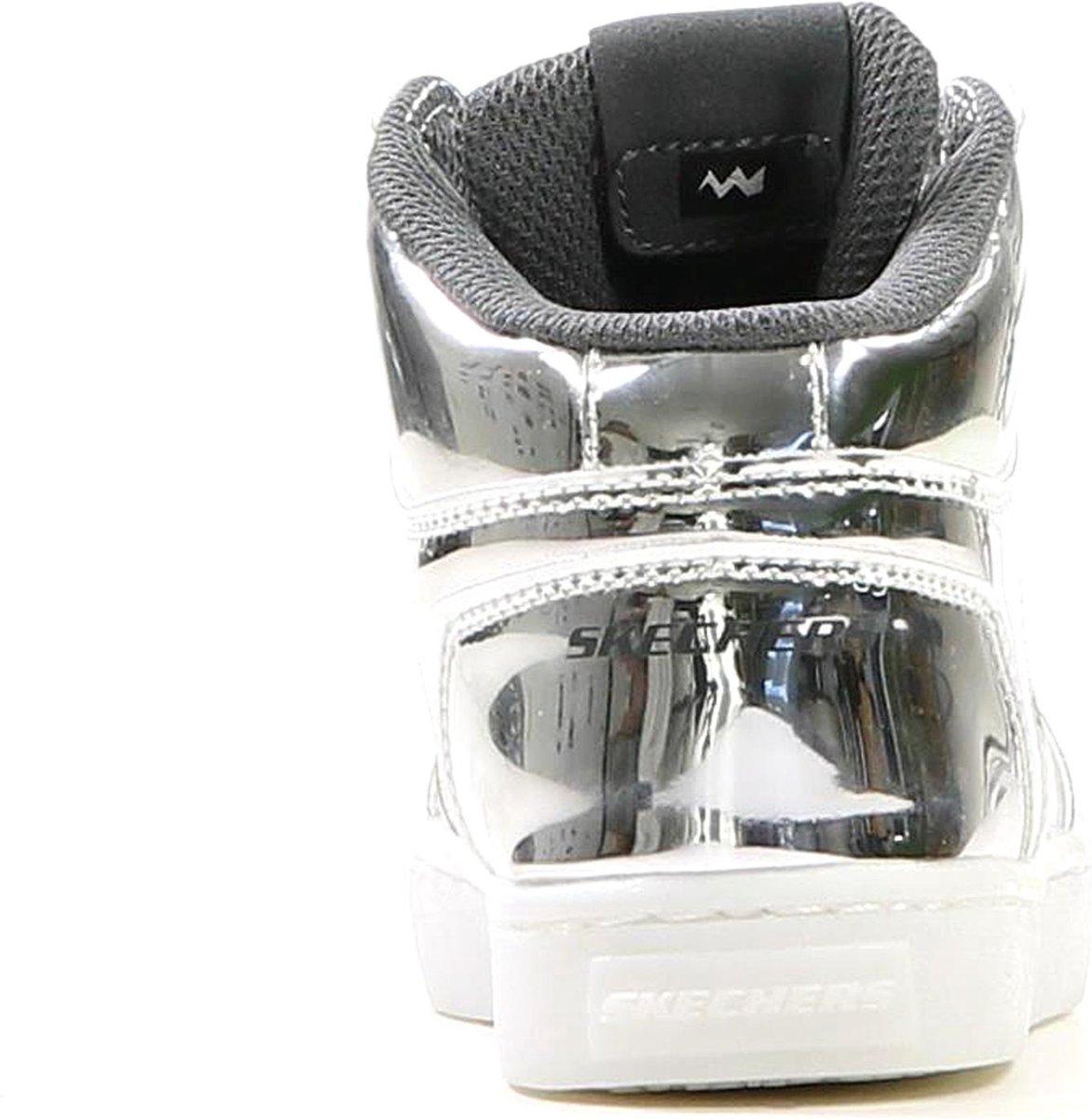 Skechers - 90603l - Sneaker Habillé - Filles - Taille 38 - Argent - Slvr JRjeu
