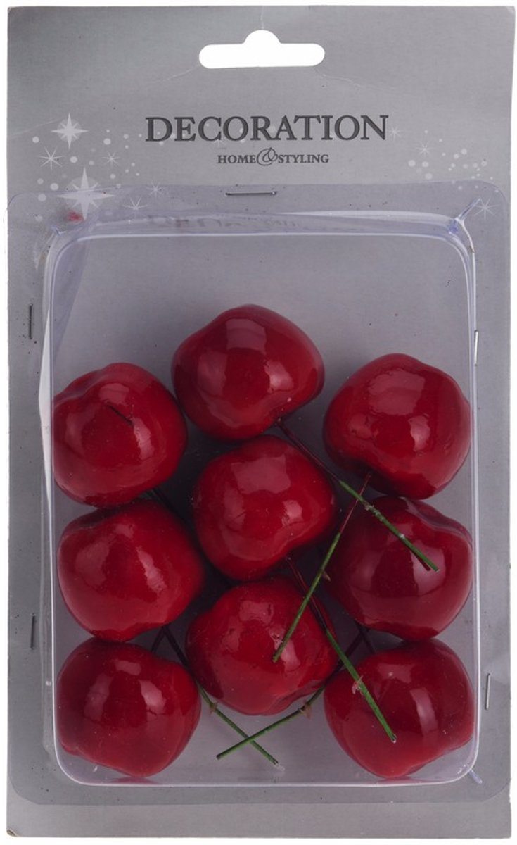 Kerststukje steker appeltjes 9 stuks kopen