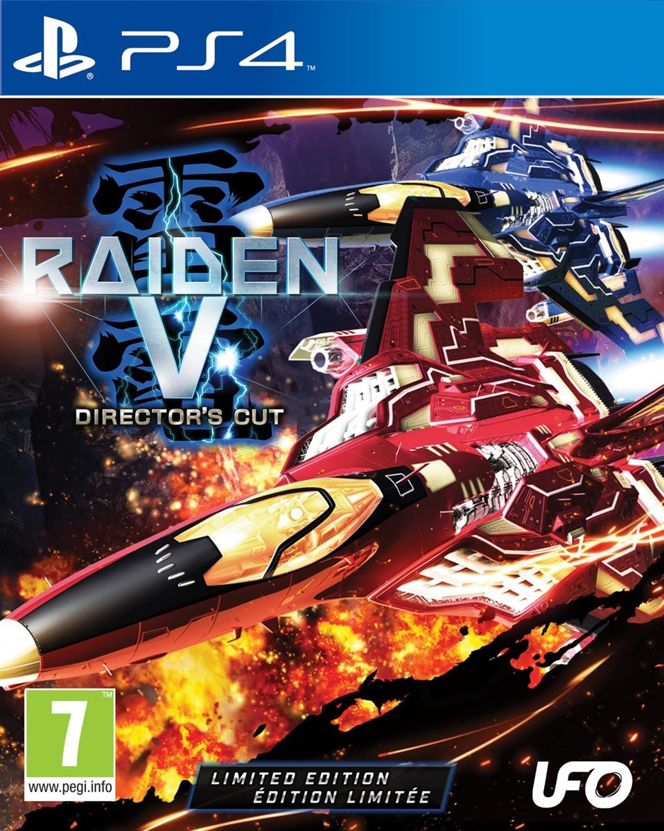 Raiden V (Director's Cut) PlayStation 4
