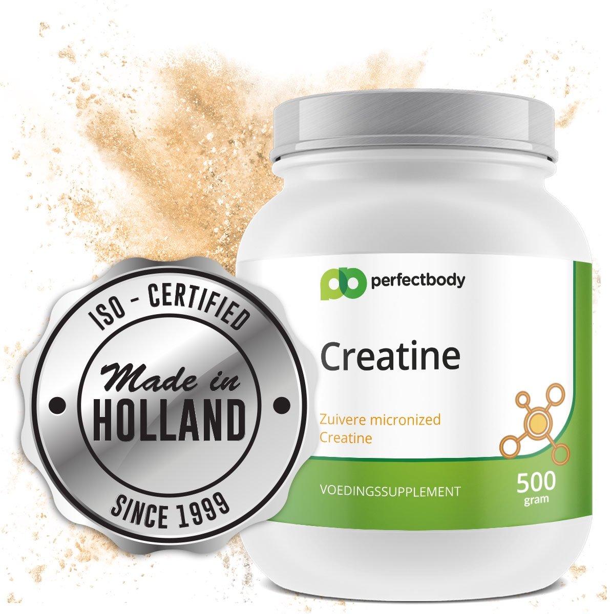 Creatine Monohydraat Poeder - 500 Gram - PerfectBody.nl kopen