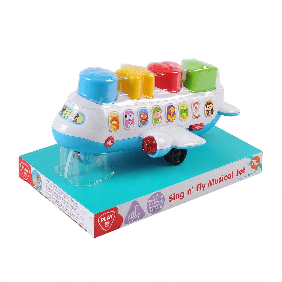 Playgo Vliegtuig met Geluid kopen