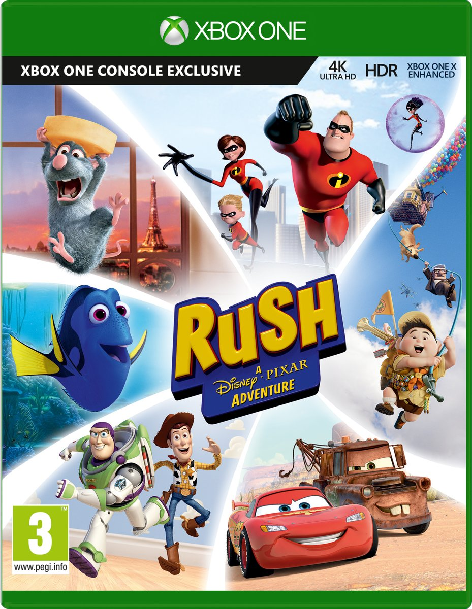 Pixar Rush Definitive Edition Xbox One