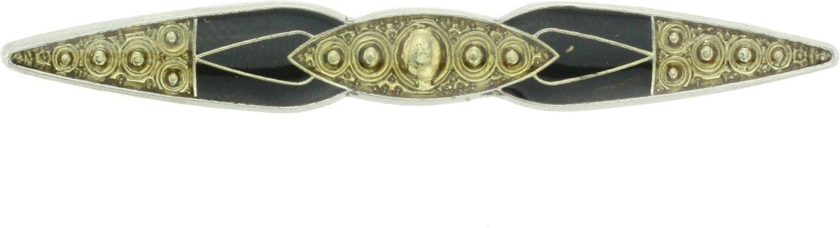 Vintage broche in antiek goud-kleur kopen