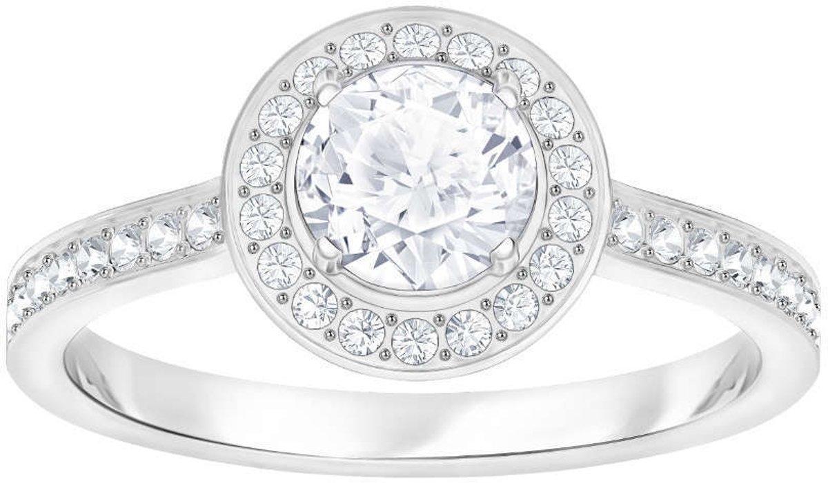Swarovski Attract Light Round Cubic Zirkonia White Ring  (Maat 52) - Zilver kopen