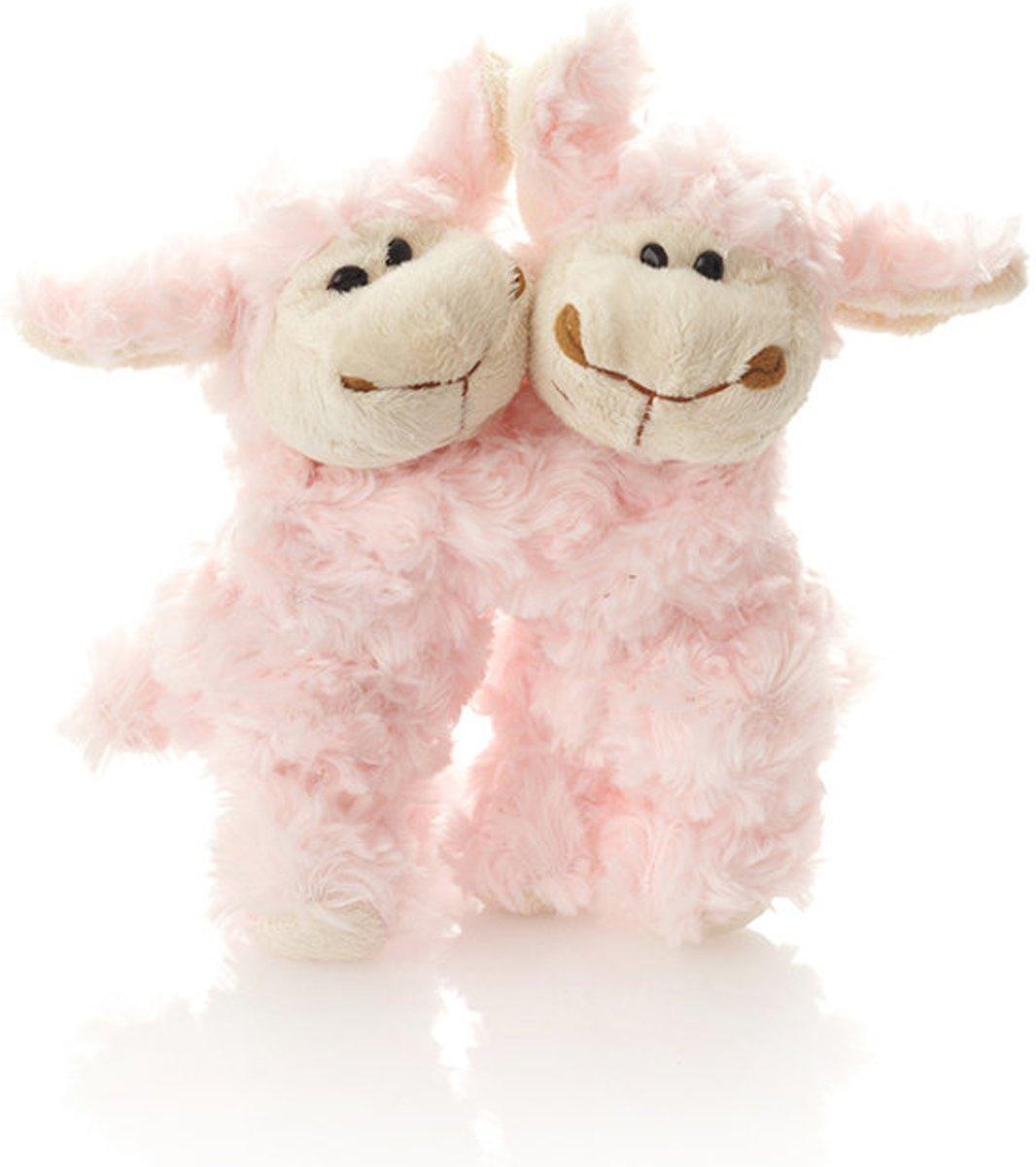 Knuffels - roze schaapjes van Wooly Sheep