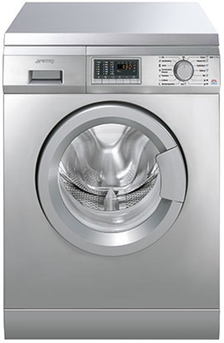 Smeg SLB147XNL - Wasmachine met HOTFILL