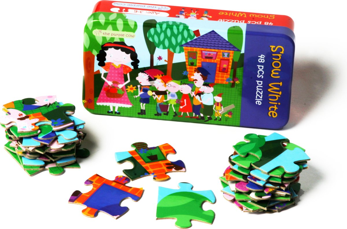 Fairy Tale Puzzels - Snow White