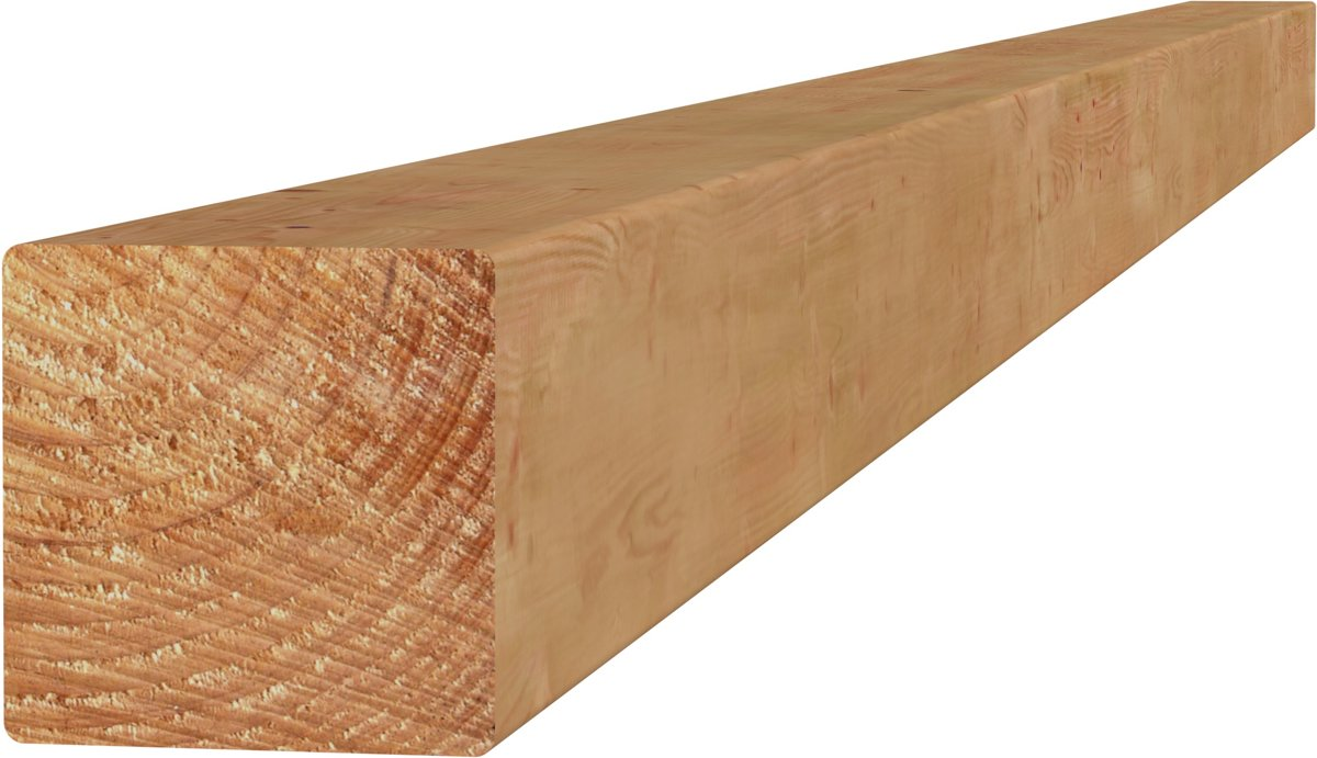 Douglas paal geschaafd 8 5 x 8 5 x 300 cm blank kopen