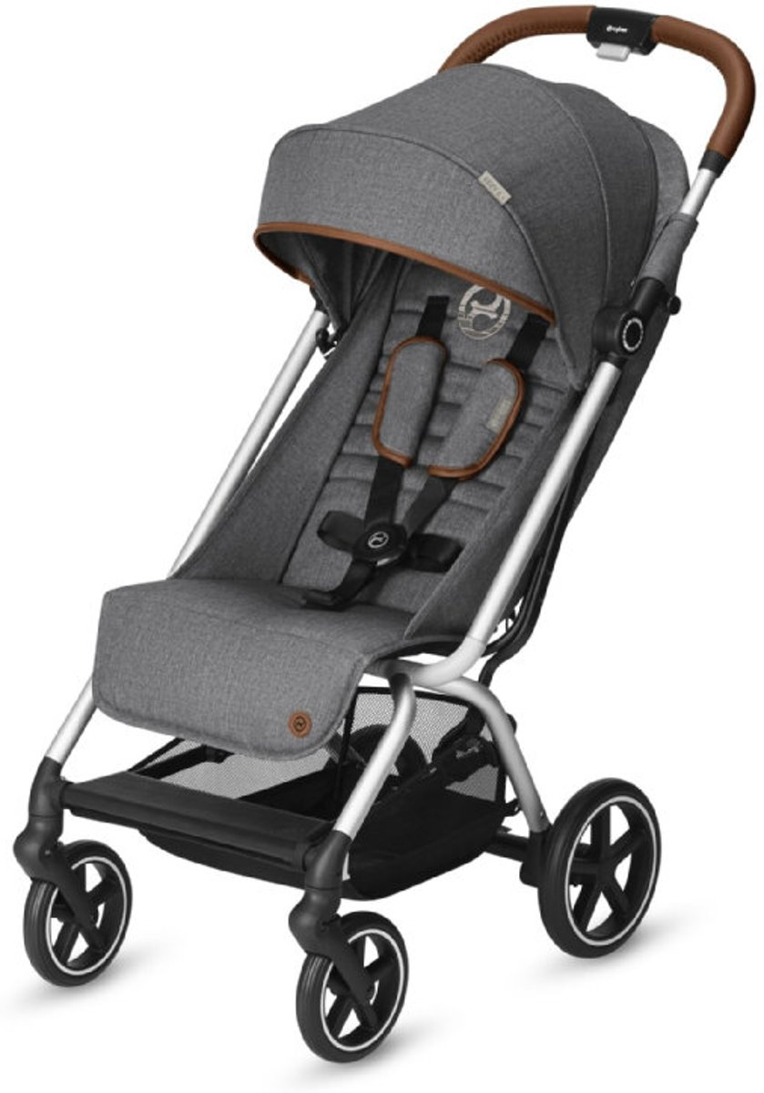 Cybex Eezy S+ - Buggy - Denim - Manhattan Grey kopen