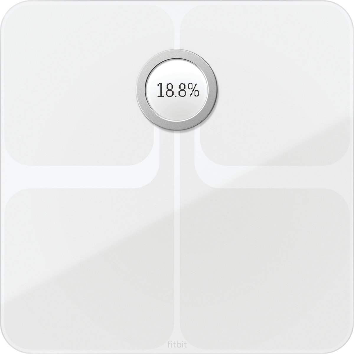 Fitbit Aria 2 - Personenweegschaal WiFi - Wit