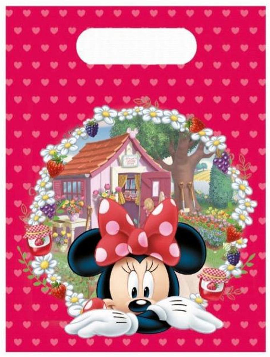 Feestzakjes Minnie Mouse 6 stuks
