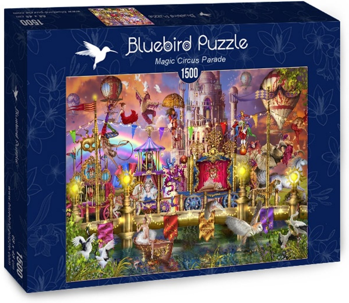 Ciro Marchetti legpuzzel Magic Circus Parade 1500 stukjes