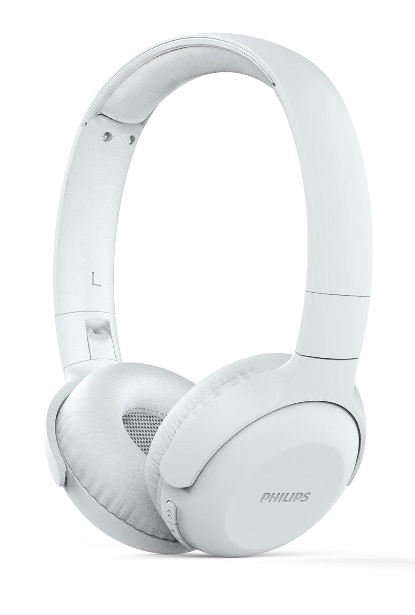 Philips Upbeat TAUH202 - Draadloze on-ear koptelefoon - Wit kopen
