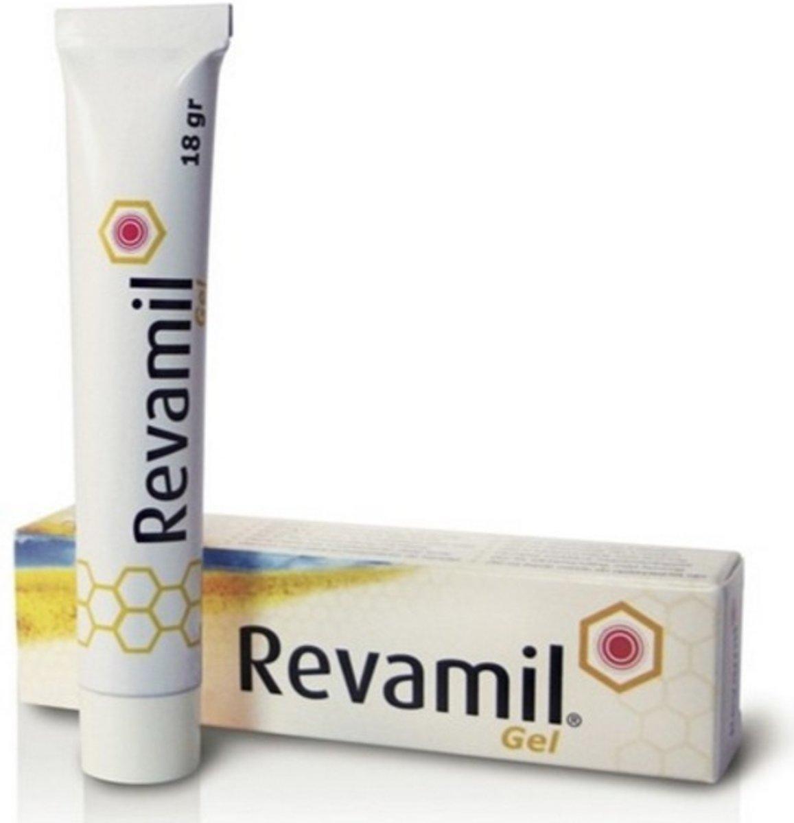 Foto van Bfactory Health Products Revamil gel 18 gram