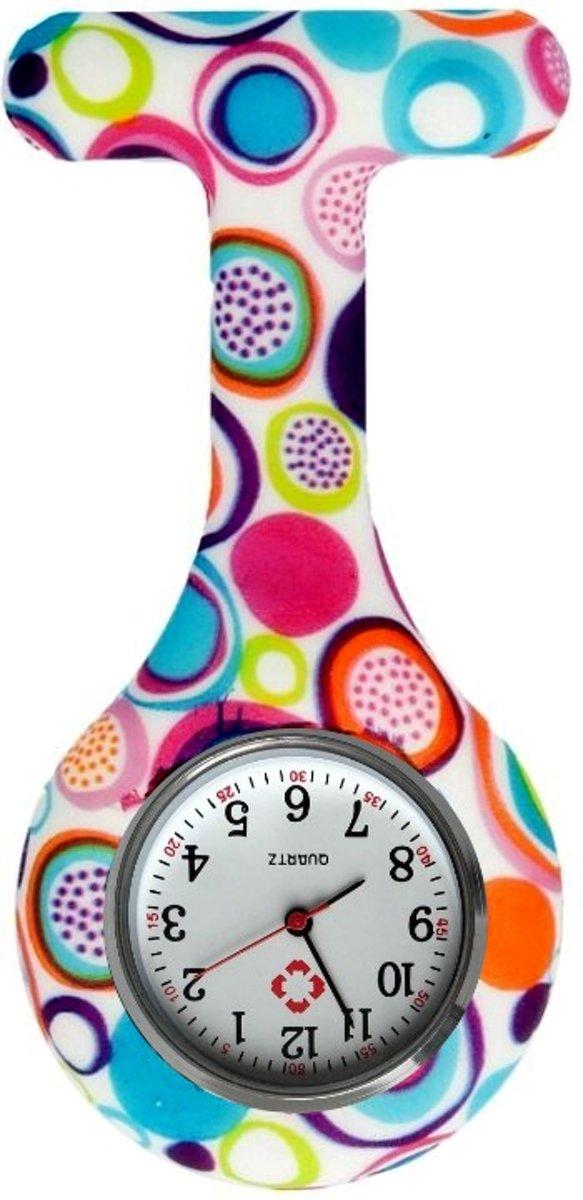 Fako Bijoux® - Verpleegstershorloge - Siliconen Print - Bubbels kopen