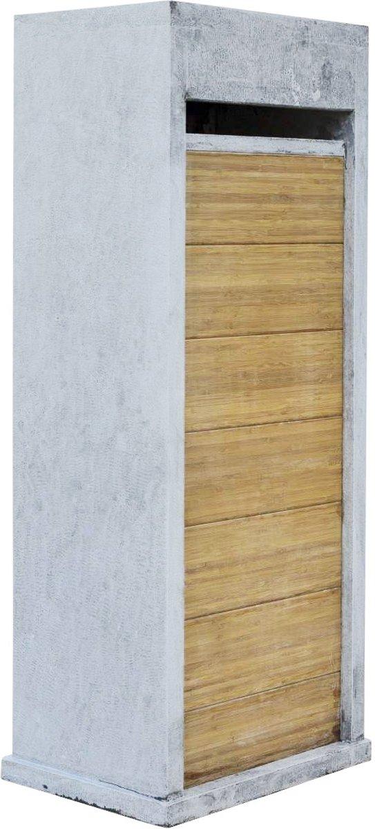 Hardstenen brievenbus VI  (Bamboo)