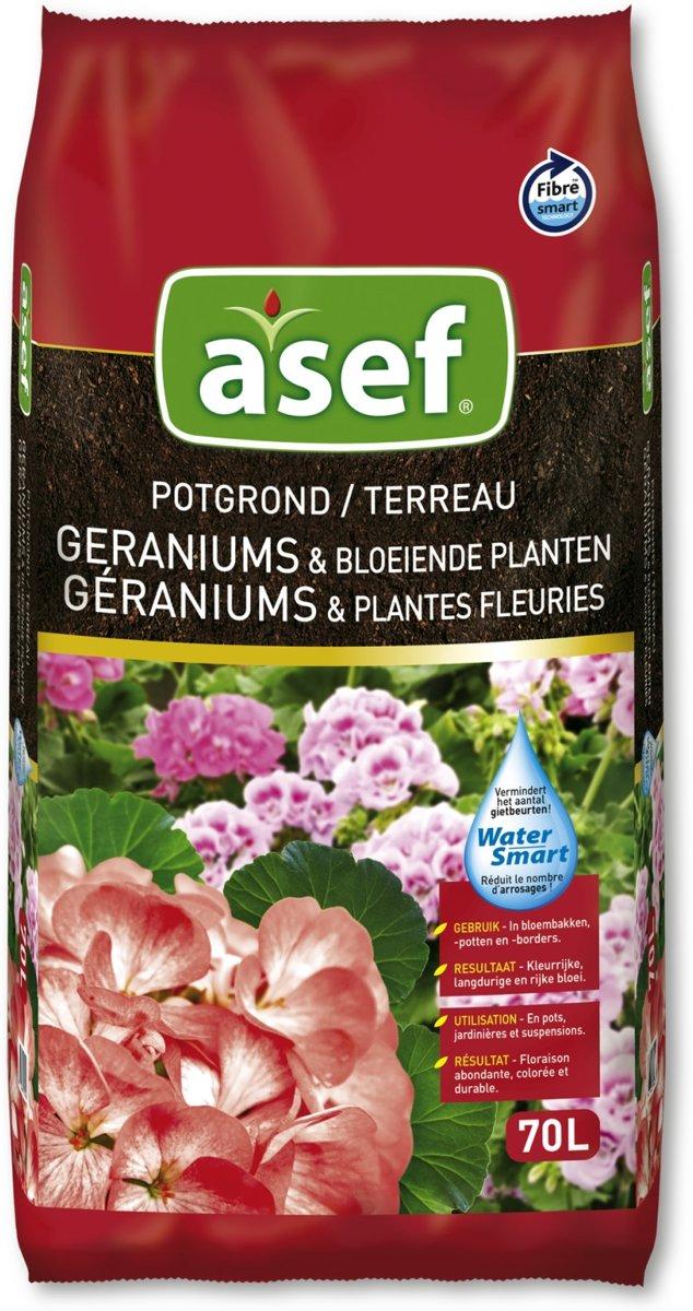 Potgrond voor geraniums, viooltjes, petunia's, surfinia's,...980 liter kopen