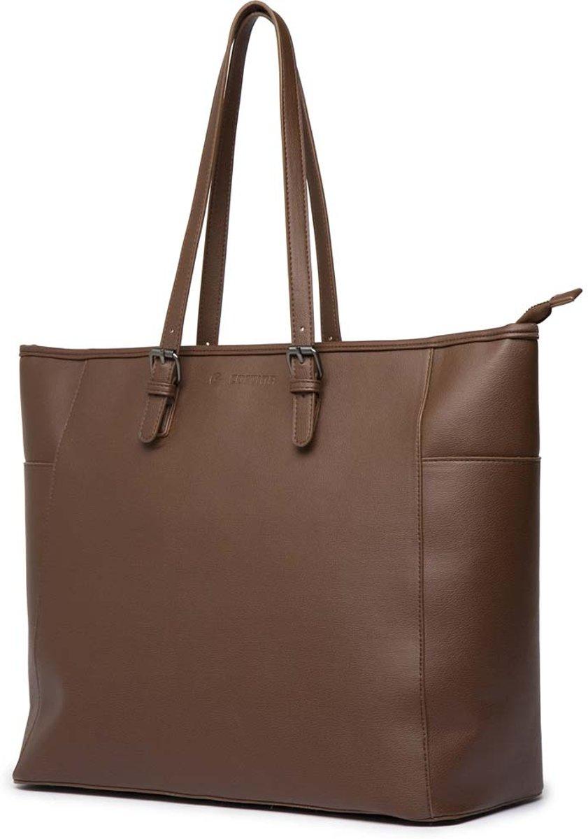 Cortina Milan Handbag Brown 23L - handtas speciaal voor voordrager kopen
