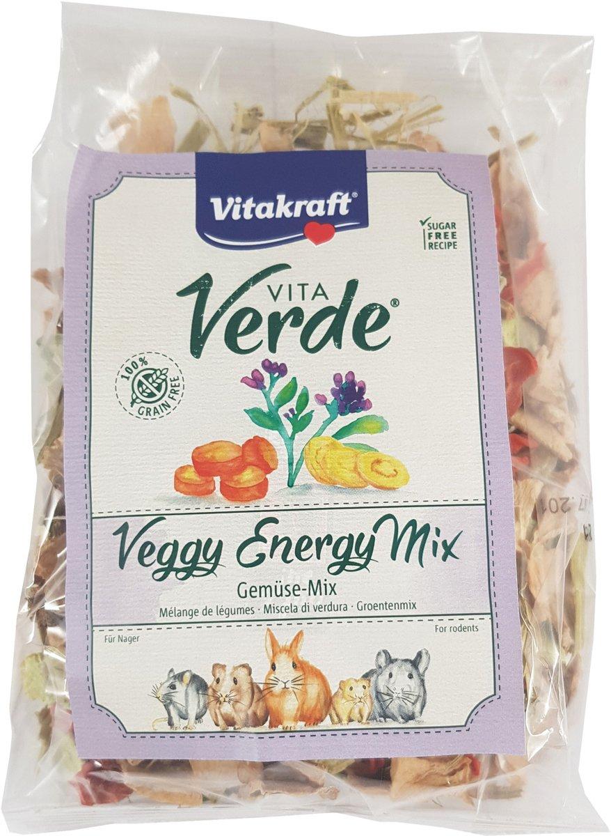 Vitakraft Vita Verde Nature Flakes - Knaagdiersnack - Groente 400 g