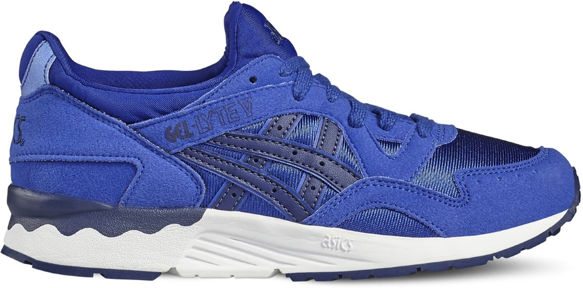 Asics Gel Lyte Chaussures De Sport V Pour Adultes, Unisexe - Bleu - 39,5 Eu
