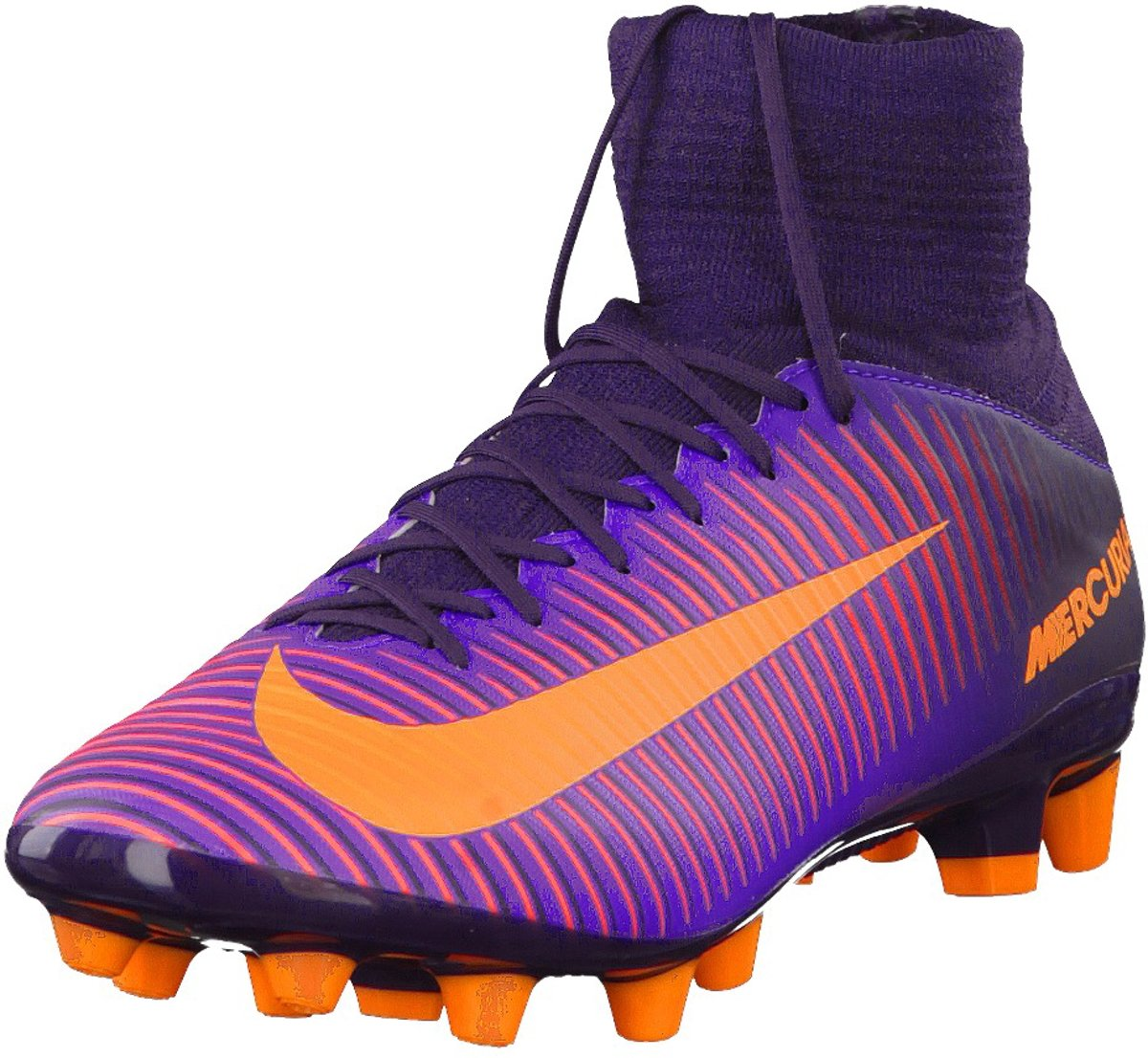 Nike Fitnessschoenen Purple DynastyBright Citrus Grape 44.5