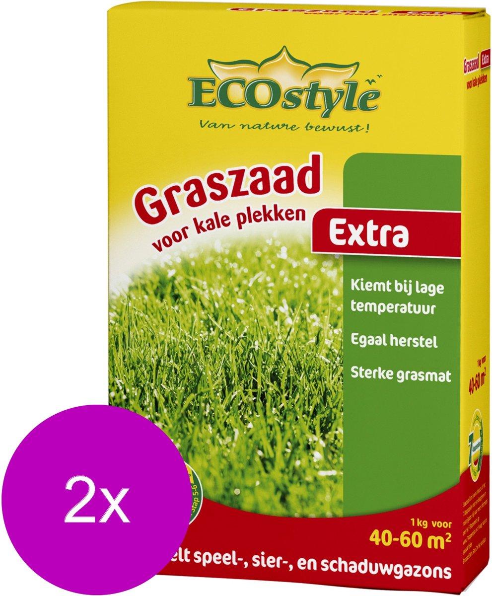 Ecostyle Graszaad-Extra 60 m2 - Graszaden - 2 x 1 kg kopen