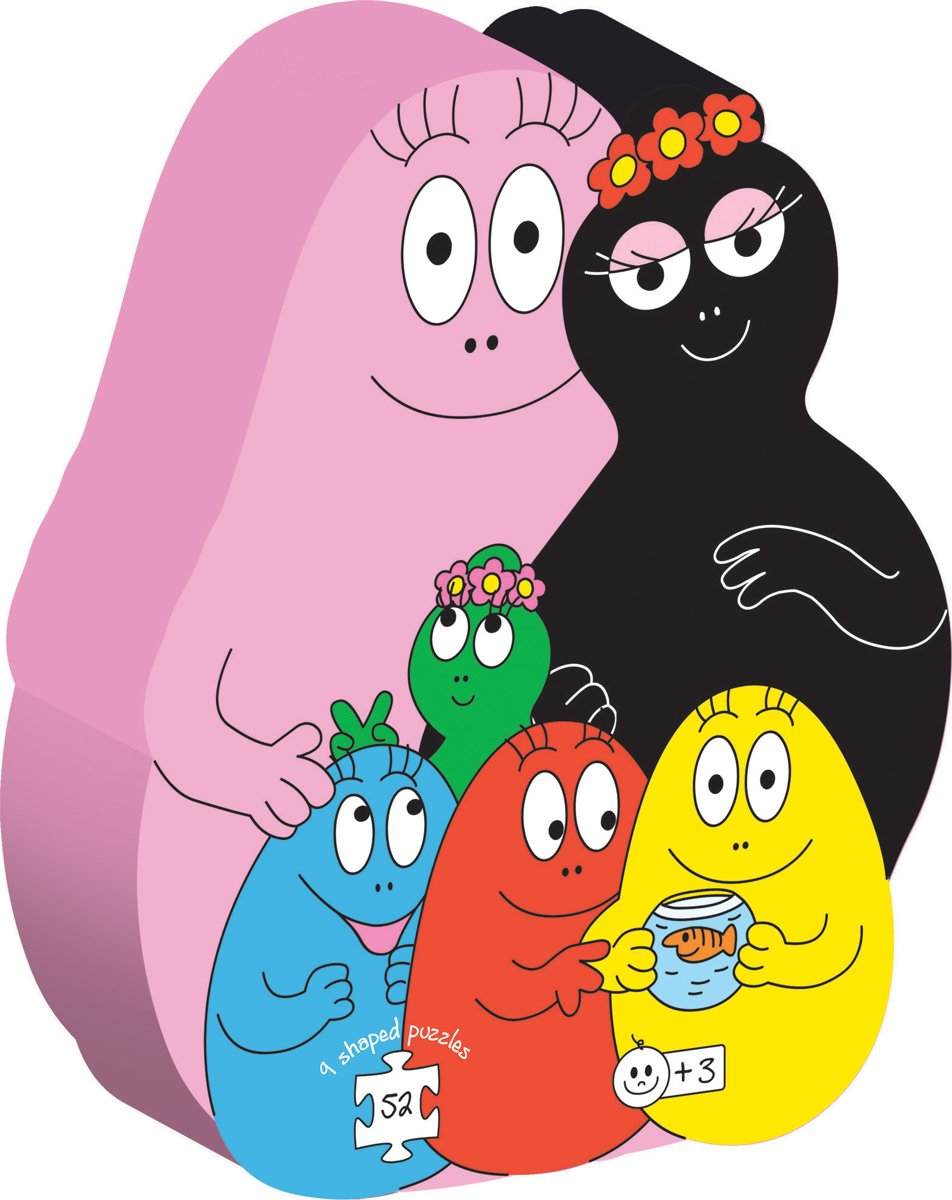 Kids N Fun 29 Kleurplaten Van Barbapapa