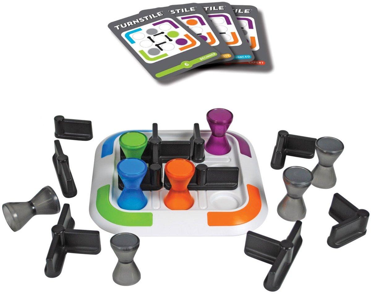 Turnstile Breinbreker Thinkfun Revolving Maze Game 8 Circuit Speelgoed