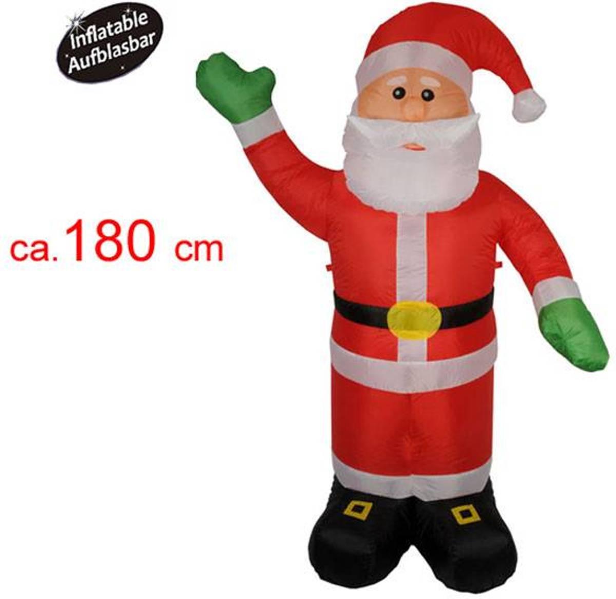 Kerstman 180cm (opblaasbaar) kopen