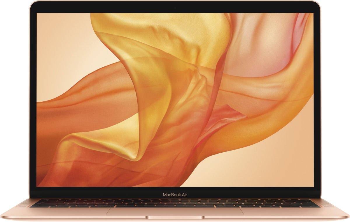 Apple Macbook Air (2018) – 128 GB – 13.3 inch - Goud (Azerty) kopen
