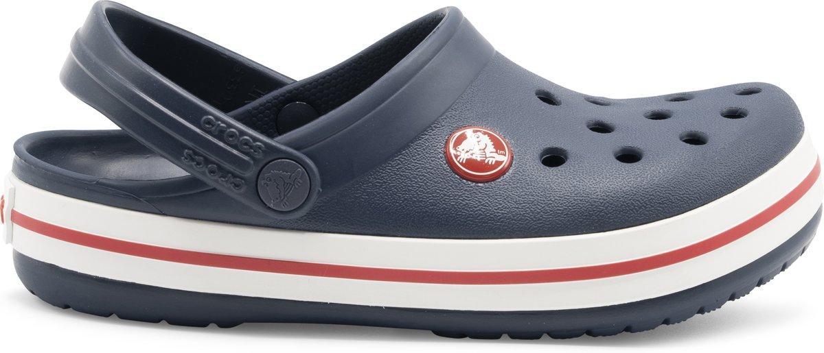 Ii Sandales Crocs Crocband De Randonnée - Taille 29/30 - Unisexe - Bleu / Rouge / Blanc WBA1Bdq