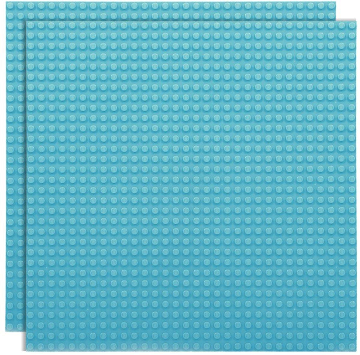 Strictly BRIKS LBP322SB Bouwplaat 32x32 Hemelsblauw Duopak